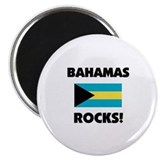 Bahamas Rocks Magnet