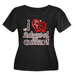 I Freakin LOVE Edward Cullen! Women's Plus Size Sc