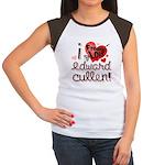 I Freakin LOVE Edward Cullen! Women's Cap Sleeve T