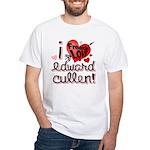 I Freakin LOVE Edward Cullen! White T-Shirt