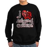 I Freakin LOVE Edward Cullen! Sweatshirt (dark)