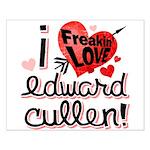 I Freakin LOVE Edward Cullen! Small Poster