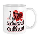 I Freakin LOVE Edward Cullen! Mug
