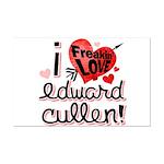 I Freakin LOVE Edward Cullen! Mini Poster Print