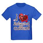 I Freakin LOVE Edward Cullen! Kids Dark T-Shirt