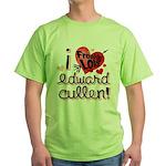 I Freakin LOVE Edward Cullen! Green T-Shirt