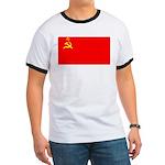 USSR Blank Flag Ringer T