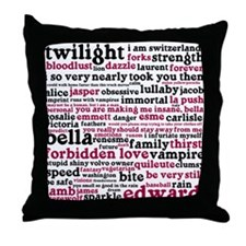 Cute Twilight Throw Pillow