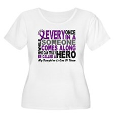 HERO Comes Along 1 Daughter PC T-Shirt