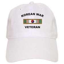 Korean War Veteran 1 Baseball Cap