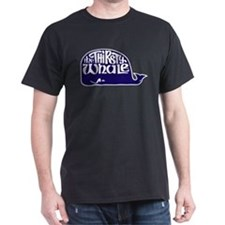 Thirsty Whale T-Shirt w/ Navy Whale