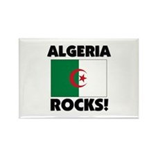 Algeria Rocks Rectangle Magnet