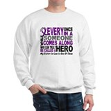 HERO Comes Along 1 Sister-In-Law PC Sweatshirt