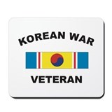 Korean War Veteran 2 Mousepad