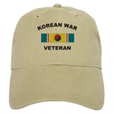 Korean War Veteran 2 Baseball Cap