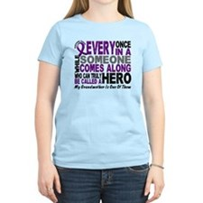 HERO Comes Along 1 Grandmother PC T-Shirt