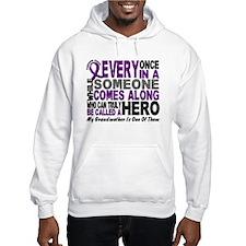 HERO Comes Along 1 Grandmother PC Hoodie