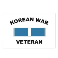 Korean War Veteran Postcards (Package of 8)