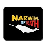 Narwhal of Death Mousepad