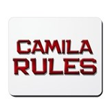 camila rules Mousepad