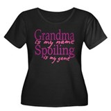 Grandma is my name Women's Plus Size Scoop Neck Da