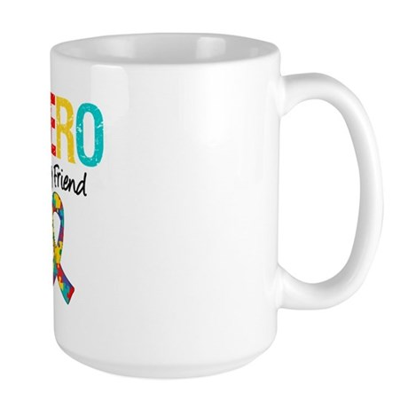 Autism Hero Friend Large Mug