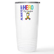 Autism Hero Daughter Ceramic Travel Mug