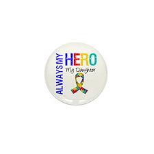 Autism Hero Daughter Mini Button (10 pack)