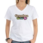 Grandma To Be Women's V-Neck T-Shirt