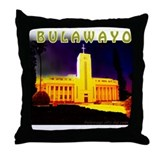 Funny Zimbabwe men Throw Pillow