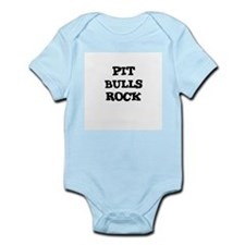 PIT BULLS ROCK Infant Creeper