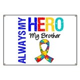 Autism Hero Brother Banner
