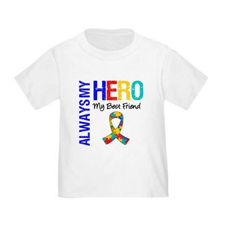 Autism Hero Best Friend Toddler T-Shirt