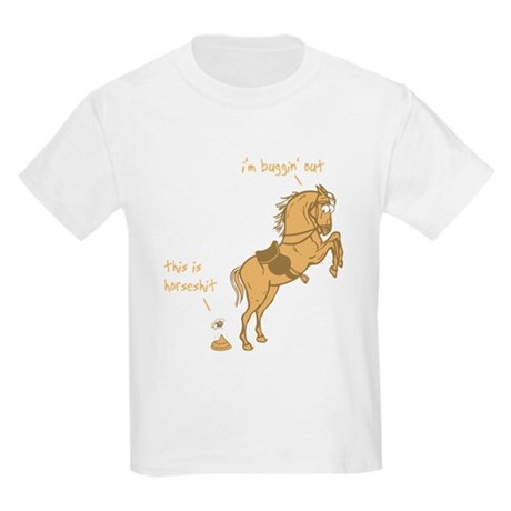 I'm Buggin' Out! Kids Light T-Shirt