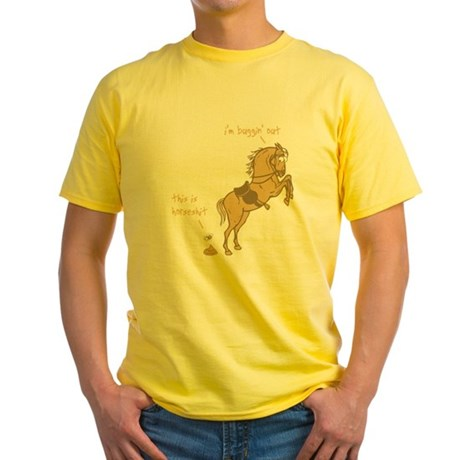I'm Buggin' Out! Yellow T-Shirt