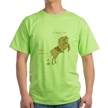 I'm Buggin' Out! Green T-Shirt
