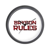 bryson rules Wall Clock