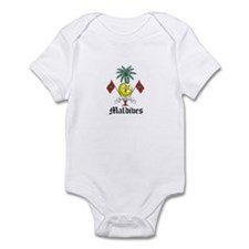 Maldivian Coat of Arms Seal Infant Bodysuit
