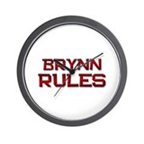 brynn rules Wall Clock