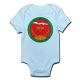 mali Flag Map Onesie
