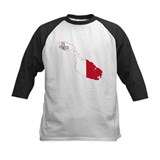 Malta Flag Map Tee