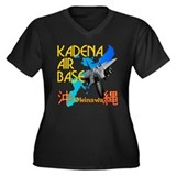 Kadena AB New Design Women's Plus Size V-Neck Dark