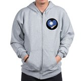 I love MARSHALL ISLANDS Flag Zip Hoodie