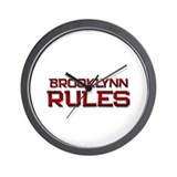 brooklynn rules Wall Clock