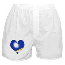 I Love MARSHALL ISLANDS Boxer Shorts