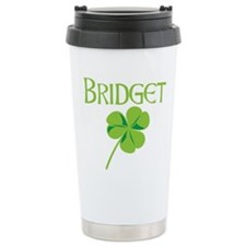 Bridget shamrock Ceramic Travel Mug