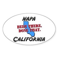 napa california - been there, done that Decal