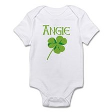 Angie shamrock Infant Bodysuit