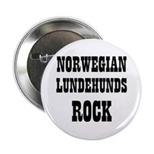 "NORWEGIAN LUNDEHUNDS ROCK 2.25"" Button (10 pack)"