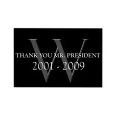 Thank You Mr. President Rectangle Magnet
